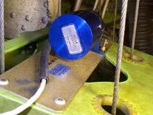 Figure 14 - DO-160D test fixture and on-aircraft installed sensor